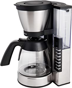Capresso 497.05 MG900 10 cup Rapid Brew Coffeemaker, Stainless Steel