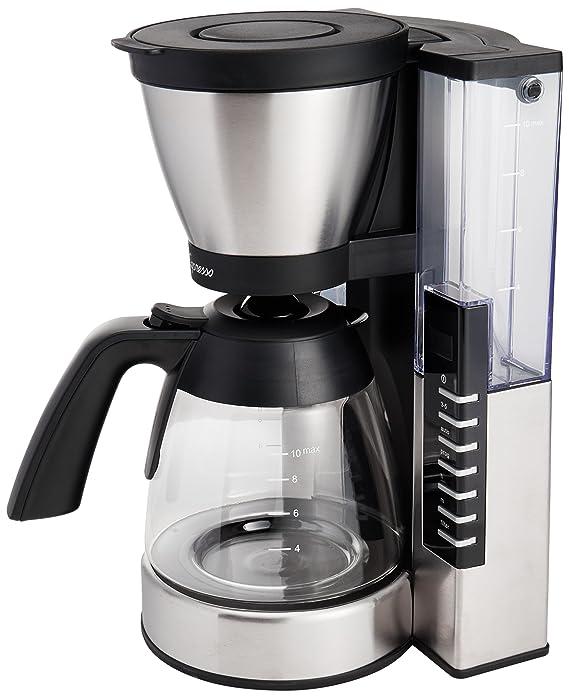 Capresso 497.05 MG900 10 cup Rapid Brew Coffeemaker, Stainless Steel Coffee, Tea & Espresso at amazon