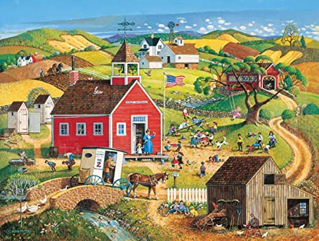 No 90s Daily Run 500 Pc Jigsaw Puzzle by SunsOut