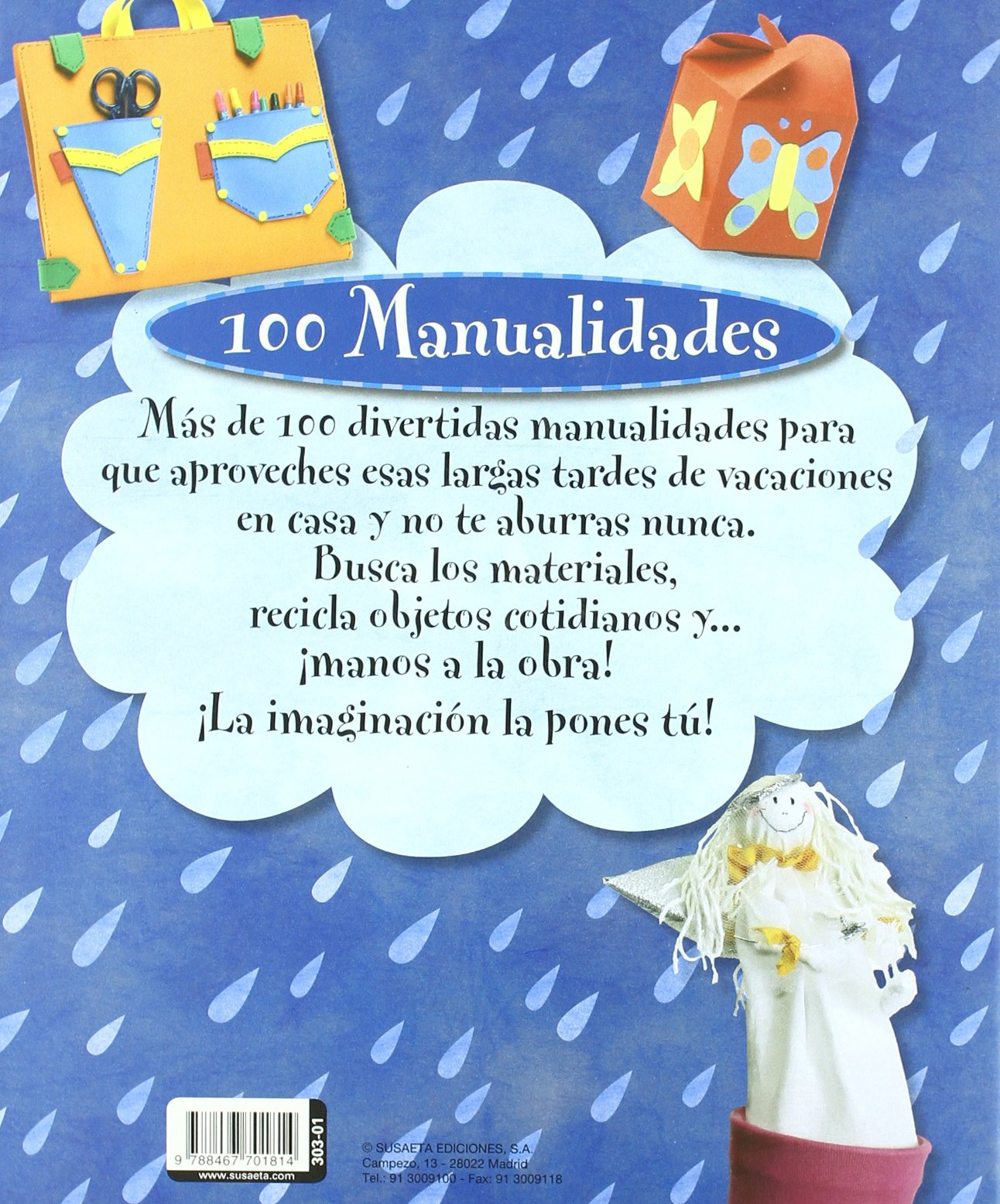 102 manualidades divertidas (100 Manualidades) (Spanish Edition): Inc.  Susaeta Publishing: 9788467701814: Amazon.com: Books