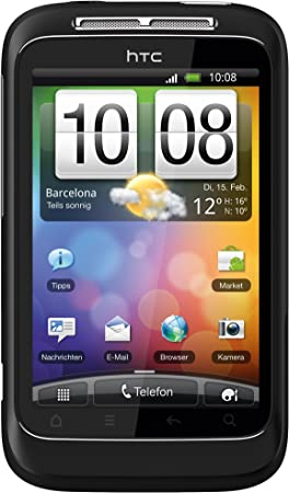 HTC Wildfire S - Smartphone libre Android (pantalla táctil de 3,2 ...