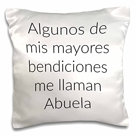 Amazon.com: OKSLO 3dRose Me llaman Abuela - Pillow Case, 16 ...