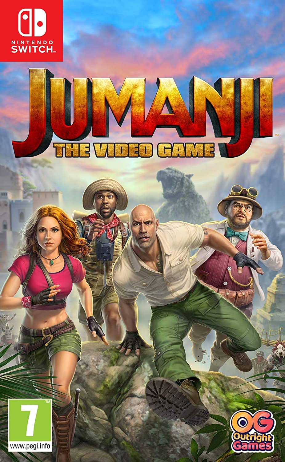 Jumanji: The Video Game - Nintendo Switch [Importación inglesa]: Amazon.es: Videojuegos