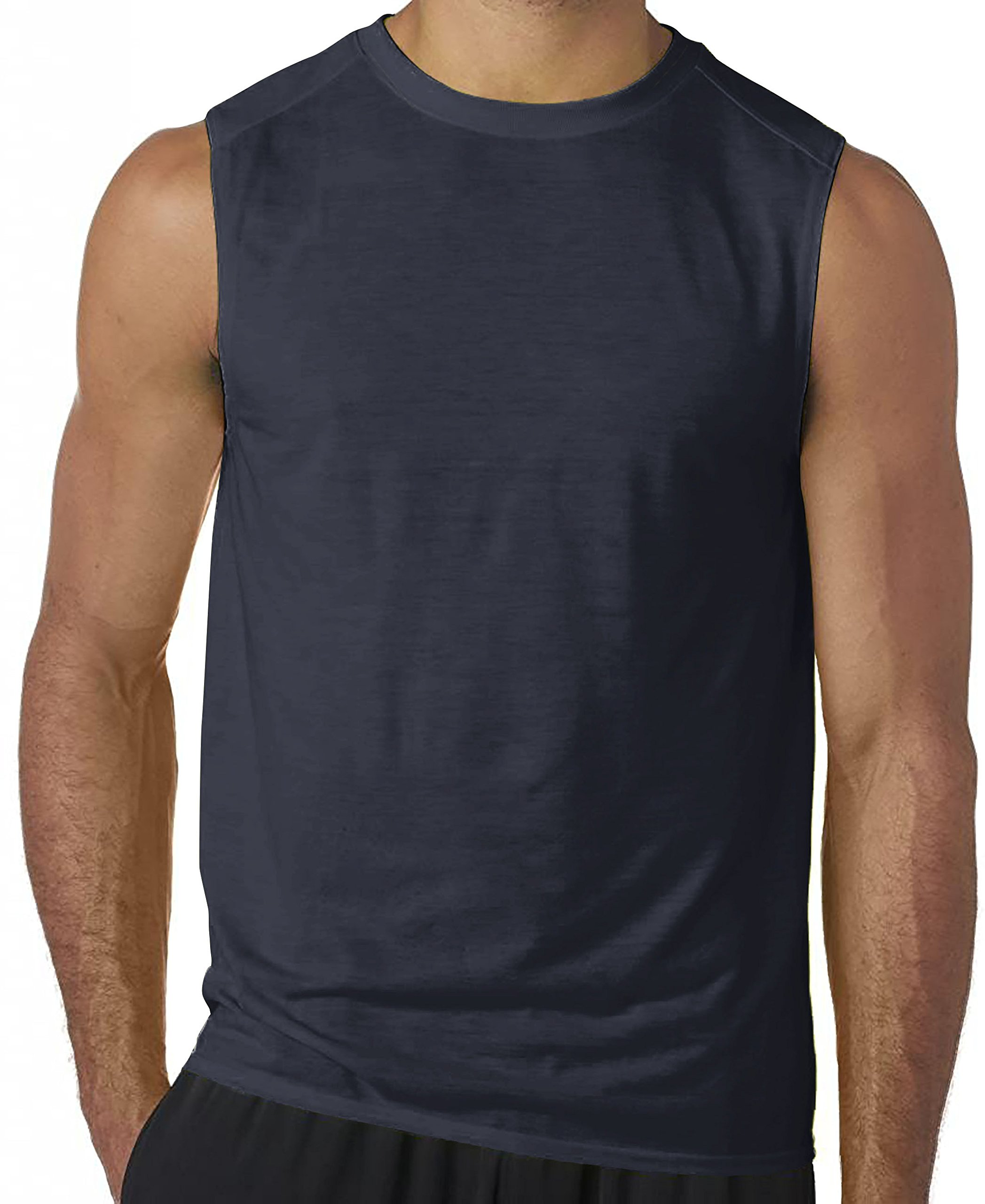 Hat and Beyond TA Mens Sleeveless Muscle Tank Top