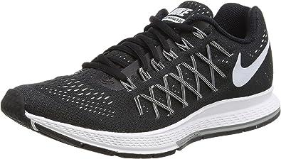 Nike Wmns Air Zoom Pegasus 32, Zapatillas de Running para Mujer, Black/White-Pure Platinum, 36 EU: Amazon.es: Zapatos y complementos
