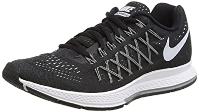 8221899af08 Nike Women s Air Zoom Pegasus 32 Dos Black White Dos Angeles (10 B(M