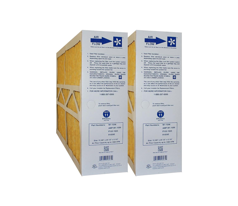 M1-1056 MERV 11 OEM Filter for Model CMF1625, 15 3/8 x 25 1/2 x 5 1/4-Inch, Case of 3 Goodman