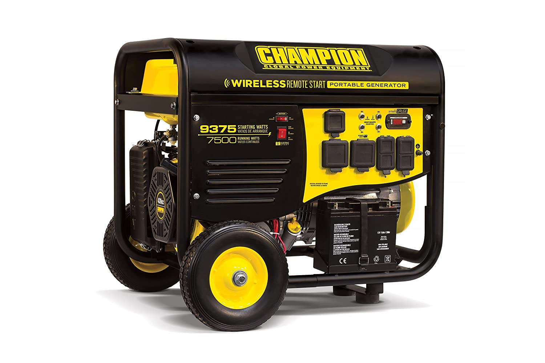 portable generators. Amazon.com: Champion 7500-Watt RV Ready Portable Generator With Wireless Remote Start: Garden \u0026 Outdoor Generators A