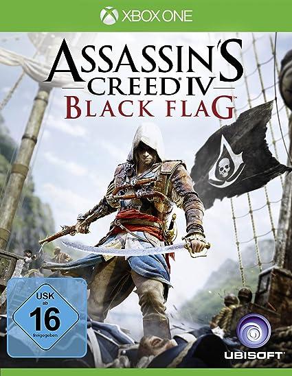 Ubisoft Assassins Creed 4 Black Flag Básico Xbox One Alemán vídeo ...
