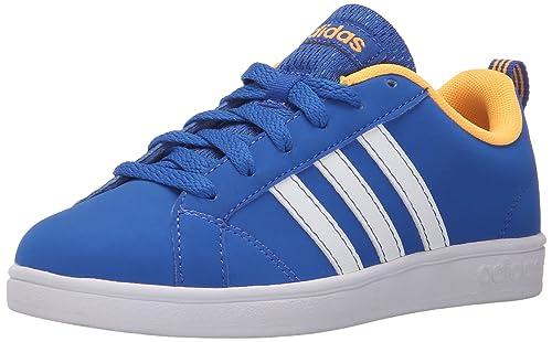 on feet at new product catch adidas NEO Advantage VS K Sneaker (Little Kid/Big Kid),Blue ...