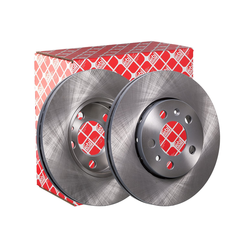 febi bilstein 14404 brake disc (Set of 2) (front axle)