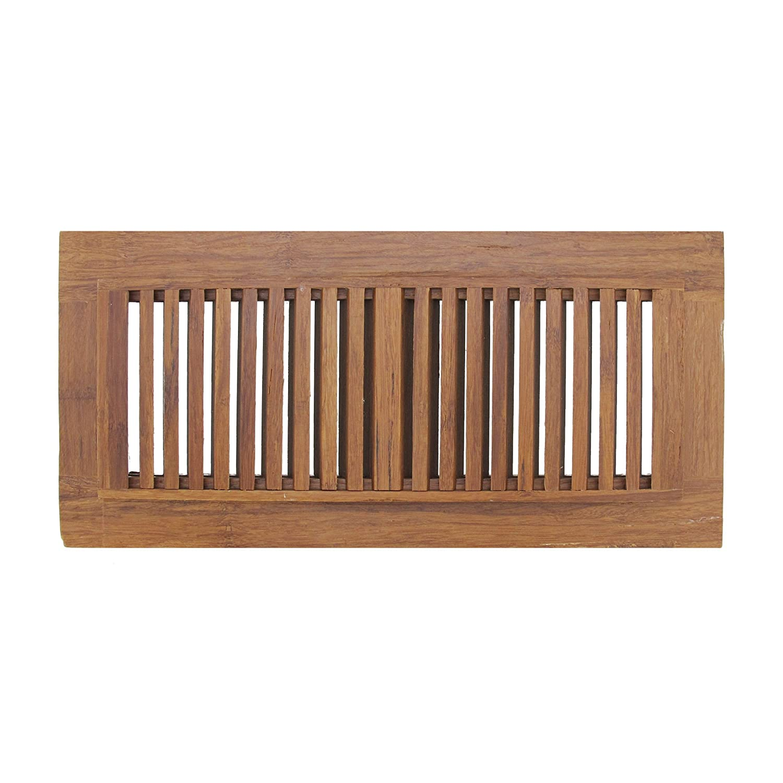 "BambooMN 4"" Inch x 12"" Inch Inch Strand Woven Bamboo Floor"