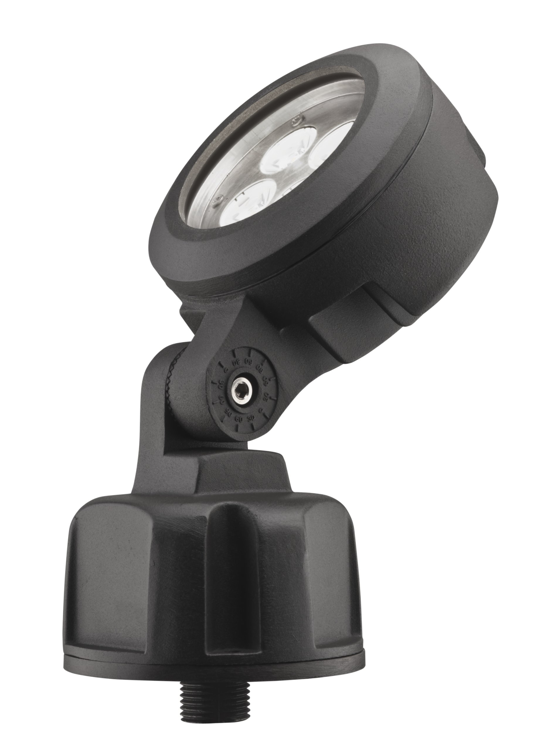 Lithonia Lighting OLBS 8 30K DDB M6 Outdoor LED Bullet 8-Inch 3000K Spotlight, Black Bronze by Lithonia Lighting