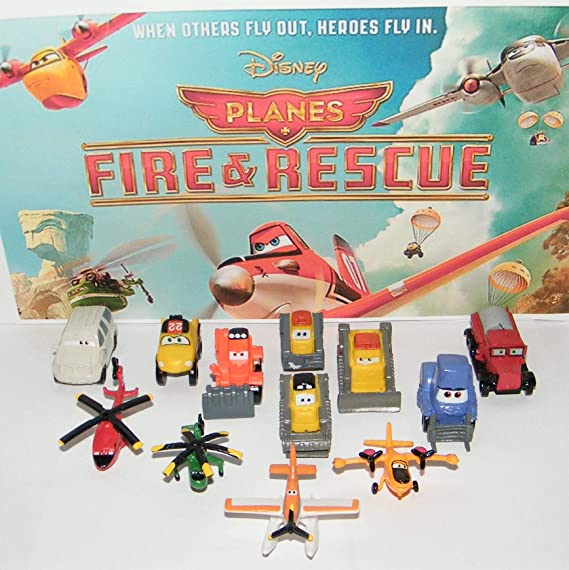 Brand New Disney Planes and Planes 2 Fire and Rescue Figures by Bullyland