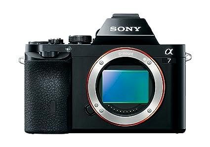 54724cffd Amazon.com : Sony a7 Full-Frame Mirrorless Digital Camera - Body ...