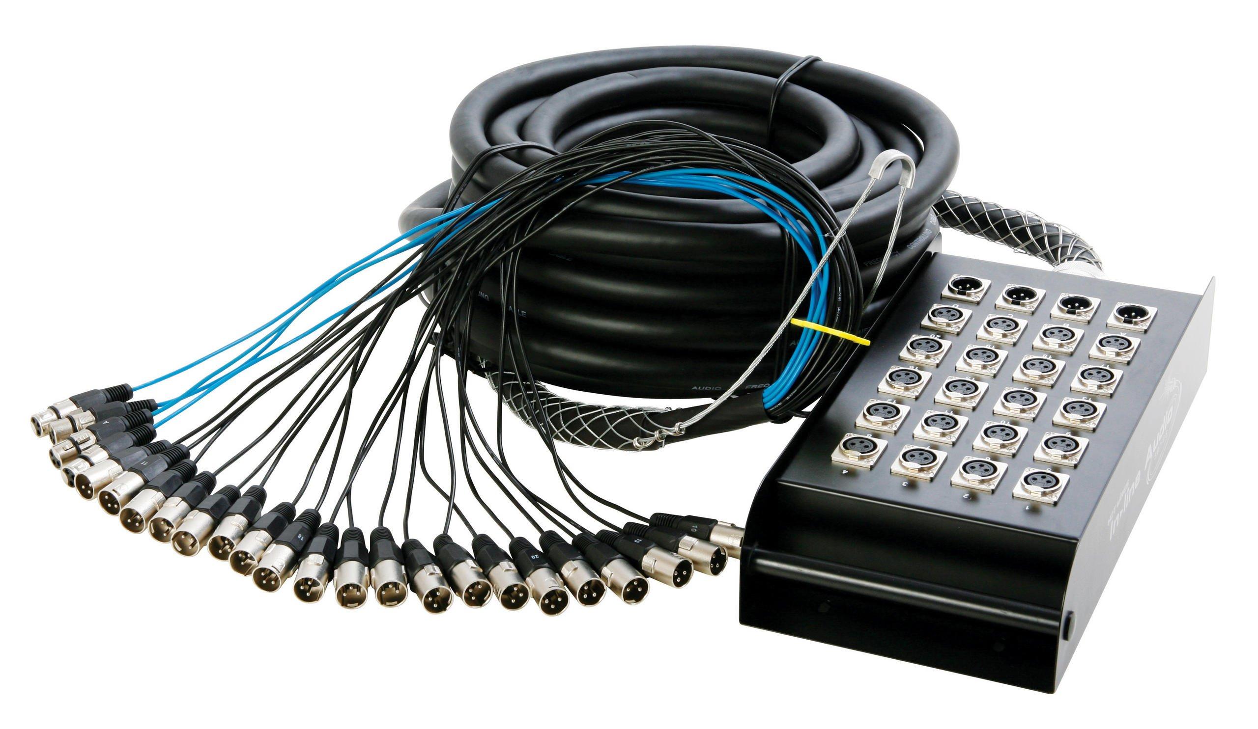 In Line Audio 20 Channel Audio Snake, 100 Feet