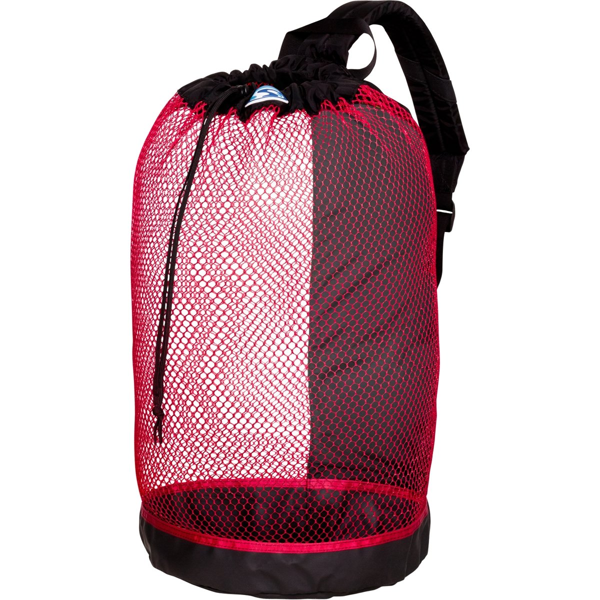 Stahlsac B.V.I. Mesh Backpack (Black/Red)