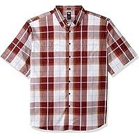 Dickies Mens Yarn Dyed Plaid Short Sleeve Shirt Big-Tall Short Sleeve Button Down Shirt - Multi