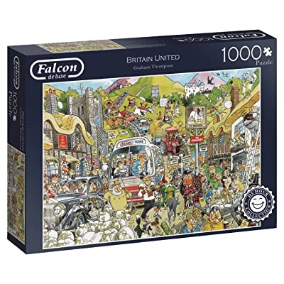 Jumbo 11197 Falcon de Luxe Graham Thompson Britain United 1000 Piece Jigsaw Puzzle: Toys & Games