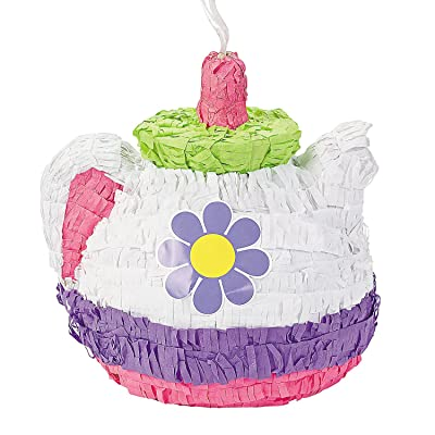 Tea Pot Pinata (Includes Hanger) Party Decor: Toys & Games