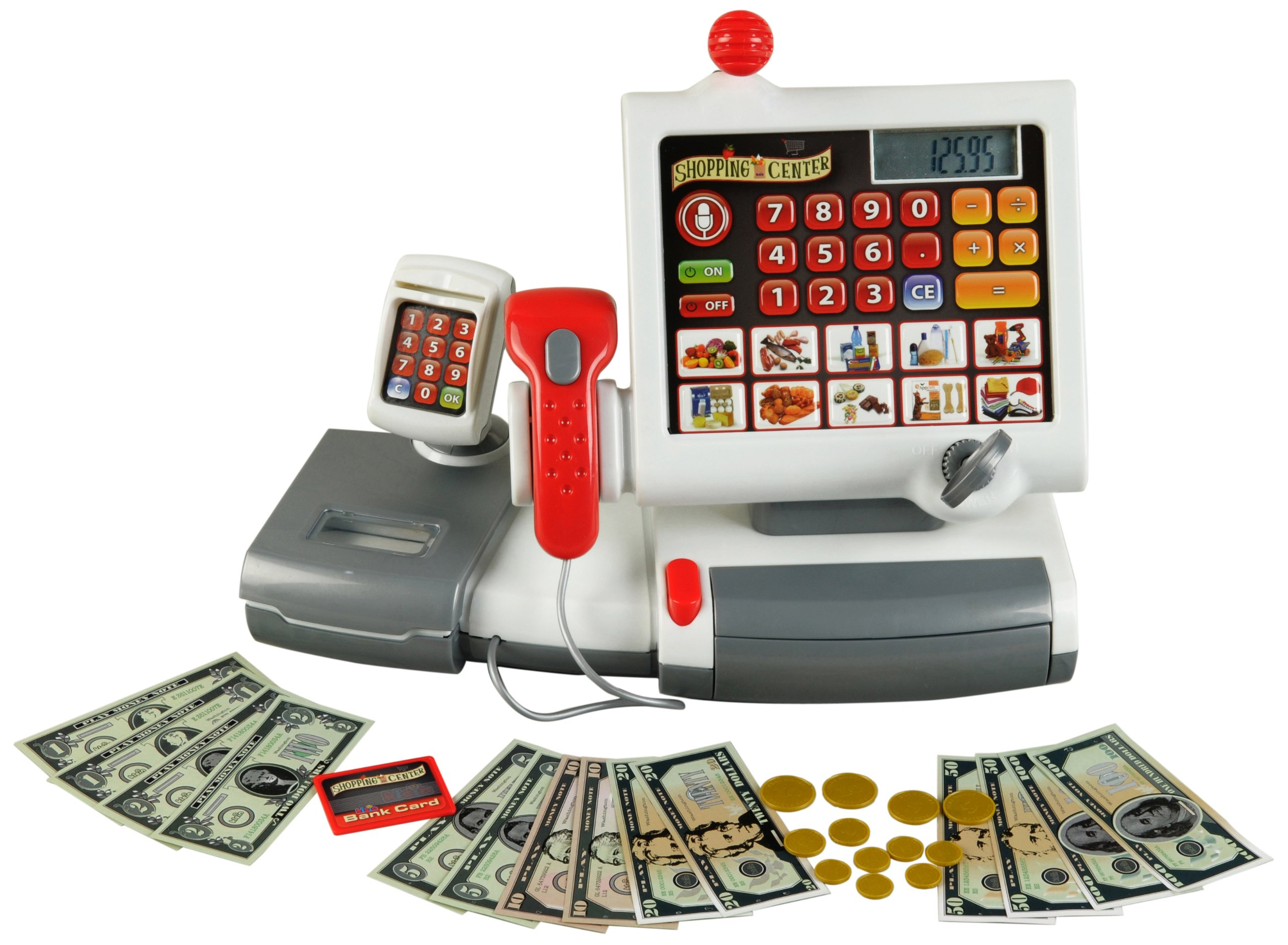 Theo Klein Electronic Toy Cash Register by Theo Klein