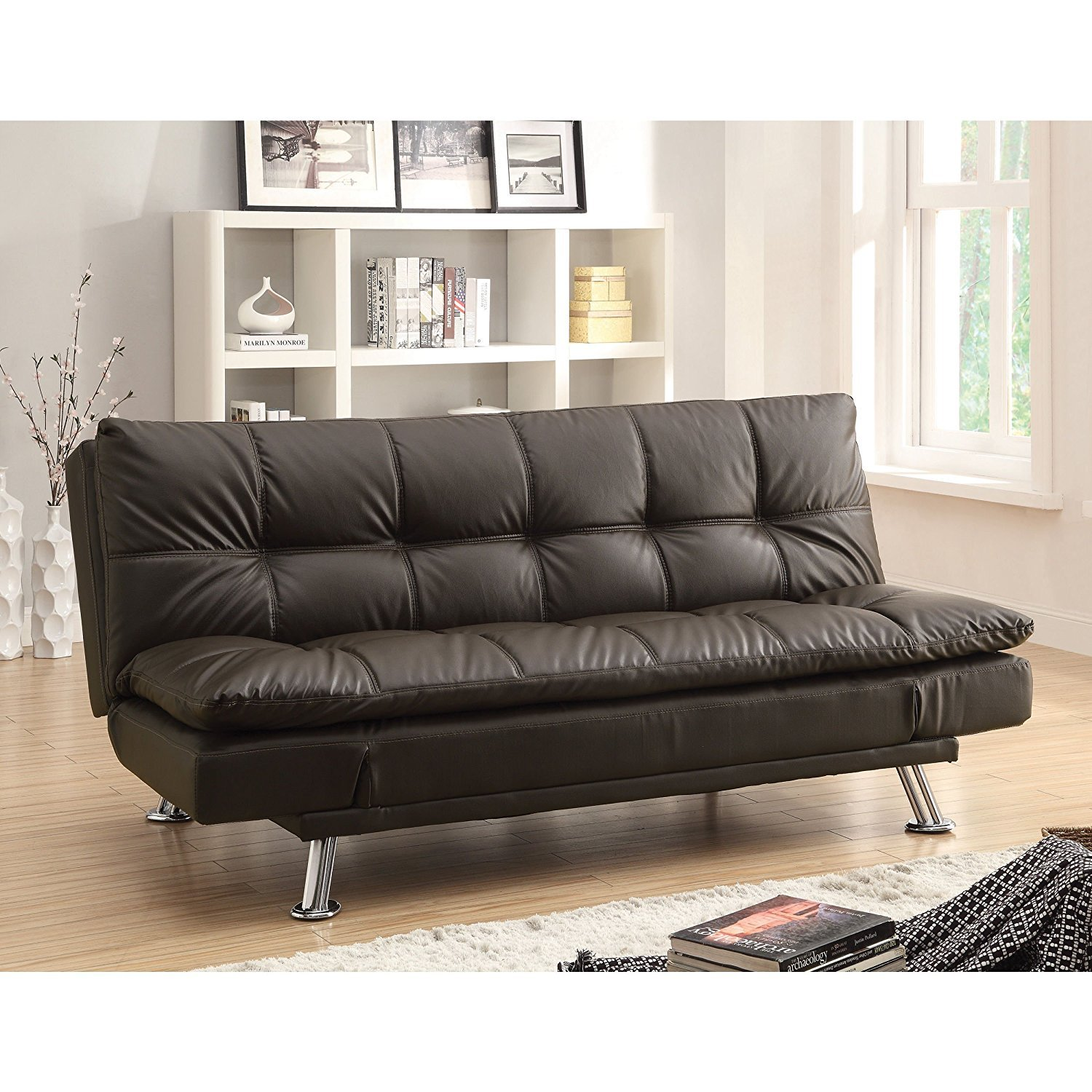 Amazon Coaster Home Furnishings Contemporary Sofa Bed