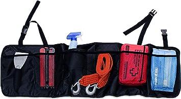 Selago Auto Organizer Aufbewahrungstasche Auto Zubehör Auto Gadget Kofferraumtasche Kofferraumnetz Kofferraum Organizer Innenraum Organizer Auto