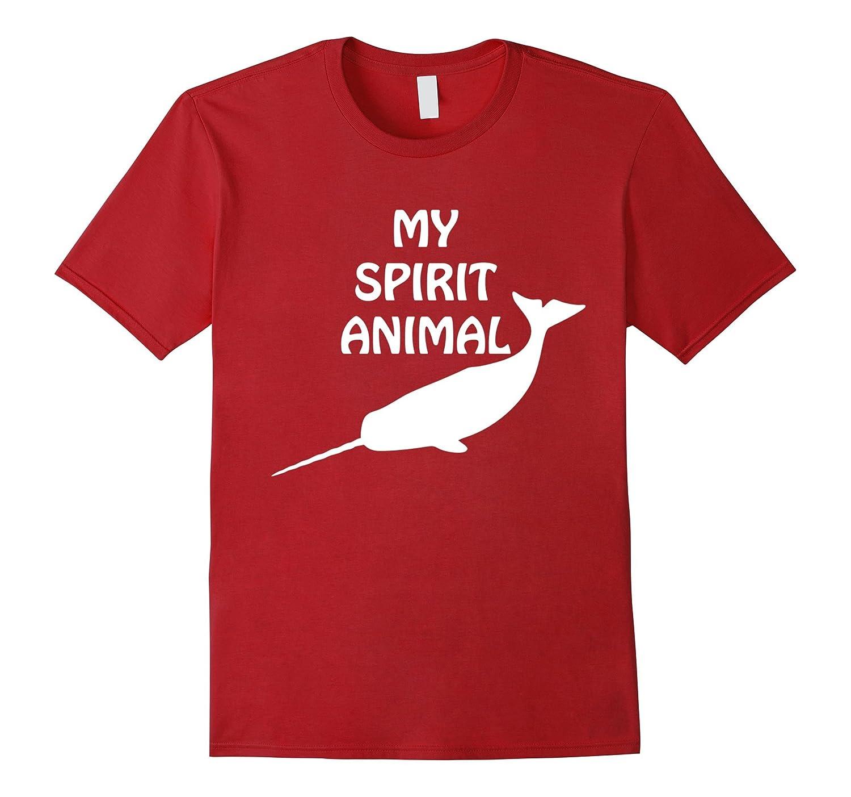 MY SPIRIT ANIMAL Narwhal T-Shirt-TD