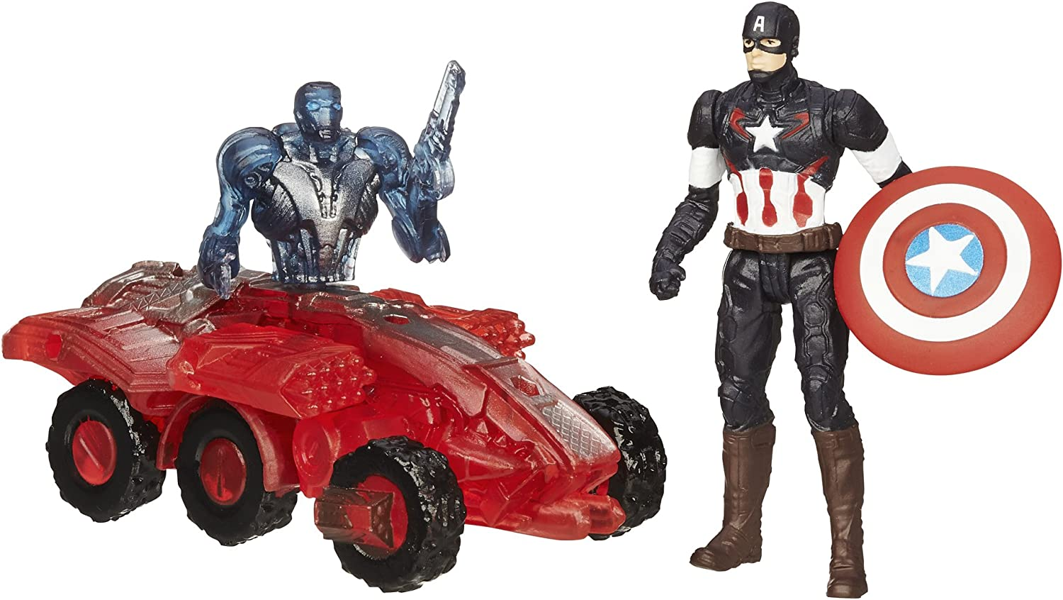 Marvel Avengers Age of Ultron Captain America Vs. Sub-Ultron 002 ...