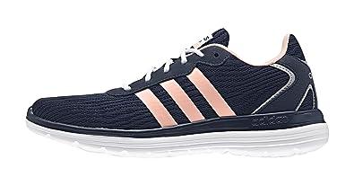 outlet store d08f3 379b6 adidas Cloudfoam Speed W, Chaussures de Sport Femme, NoirBlancRose (