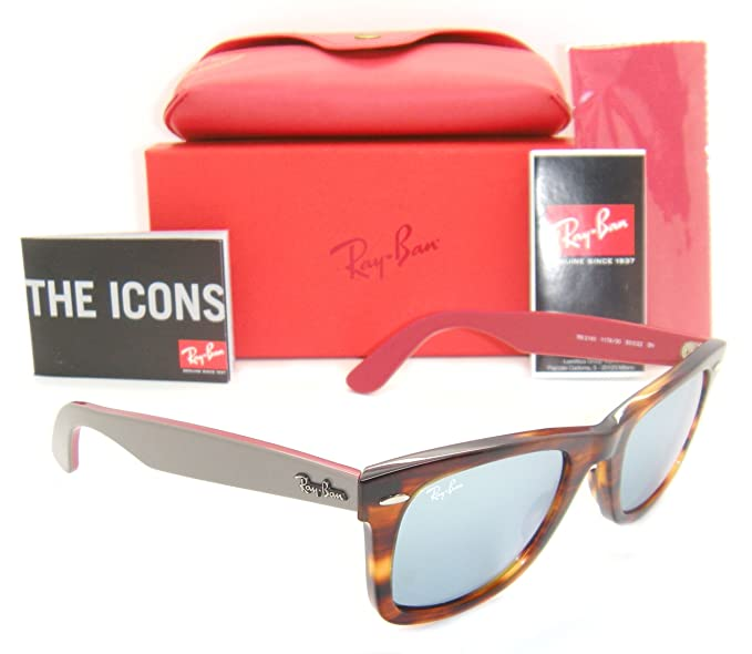 Image Unavailable. Image not available for. Colour  Ray-Ban Original  Wayfarer RB 2140 ... 41a11213ea711