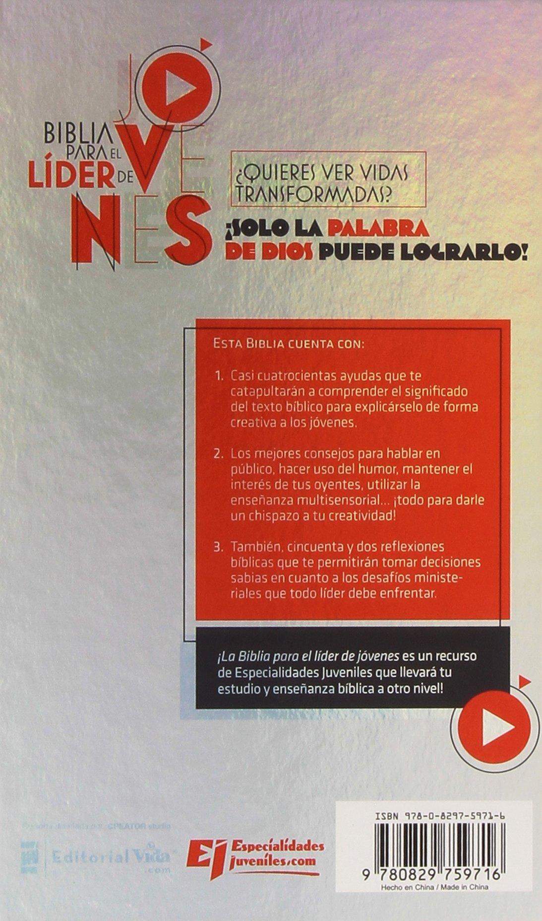 Biblia para el líder de jóvenes NVI (Especialidades Juveniles) (Spanish Edition): Howard Andruejol, Lucas Leys: 9780829759716: Amazon.com: Books
