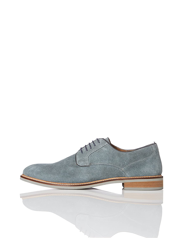 Find Zapatos de Cordones Derby Hombre 46 EU|Azul (Blue)