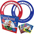 Activ Life Kid's Flying Rings [2 Pack] Fly Straight & Don't Hurt - 80% Lighter Than Standard Flying Discs - Replace Screen Ti