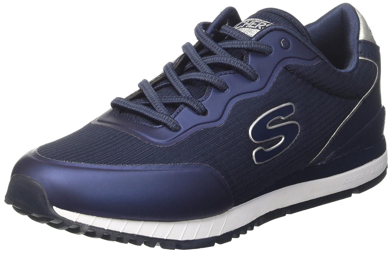 Skechers Sunlite-Vega, Zapatillas sin Cordones para Mujer 39 EU|Azul (Navy)