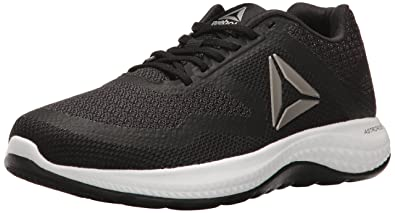 brand new 271af b2529 Reebok Women s Astroride Duo Running Shoe Black Coal Pewter White 7.5 ...