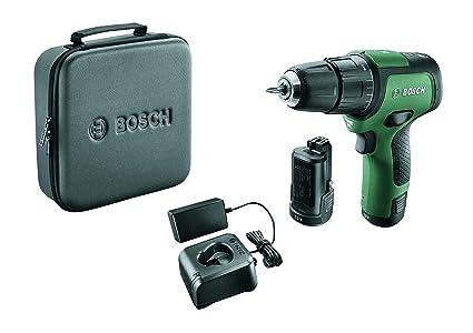 Bosch EasyImpact 12 - Taladro atornillador de impacto (2 baterías ...
