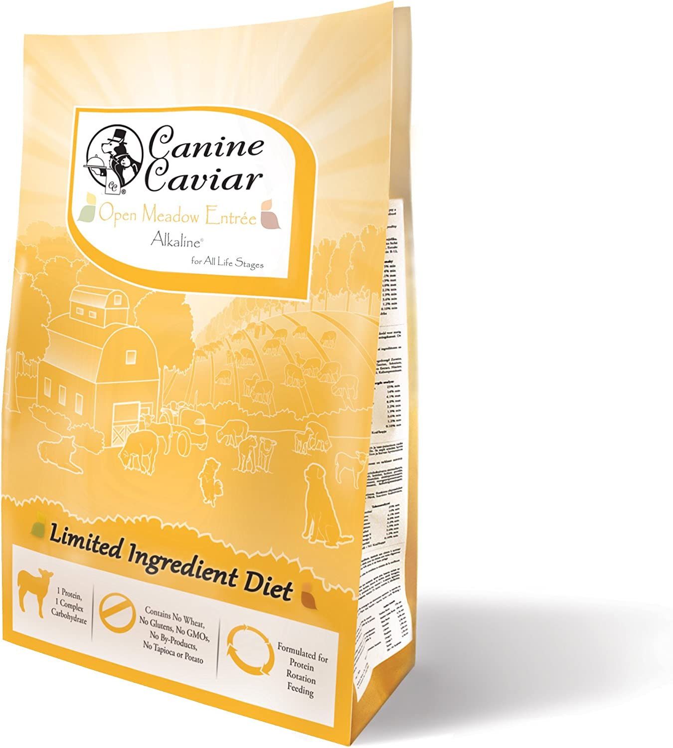 Canine Caviar Open Sky Grain Free Limited Ingredient Alkaline Holistic Entr e All Life Stages Dog Food