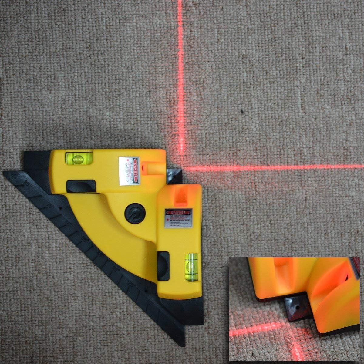 Escuadra l/áser horizontal vertical de 90 grados de /ángulo recto Keaimei