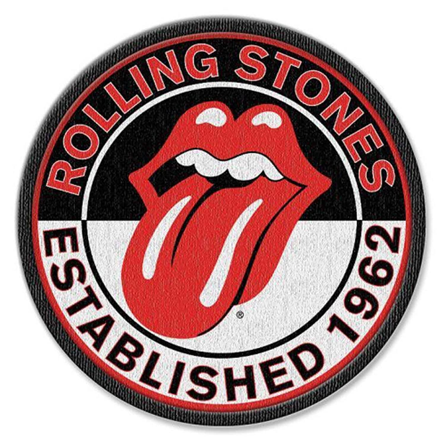 The Rolling Stones Patch Est 1962 Band Logo new Official Iron on The Rolling Stones Merch