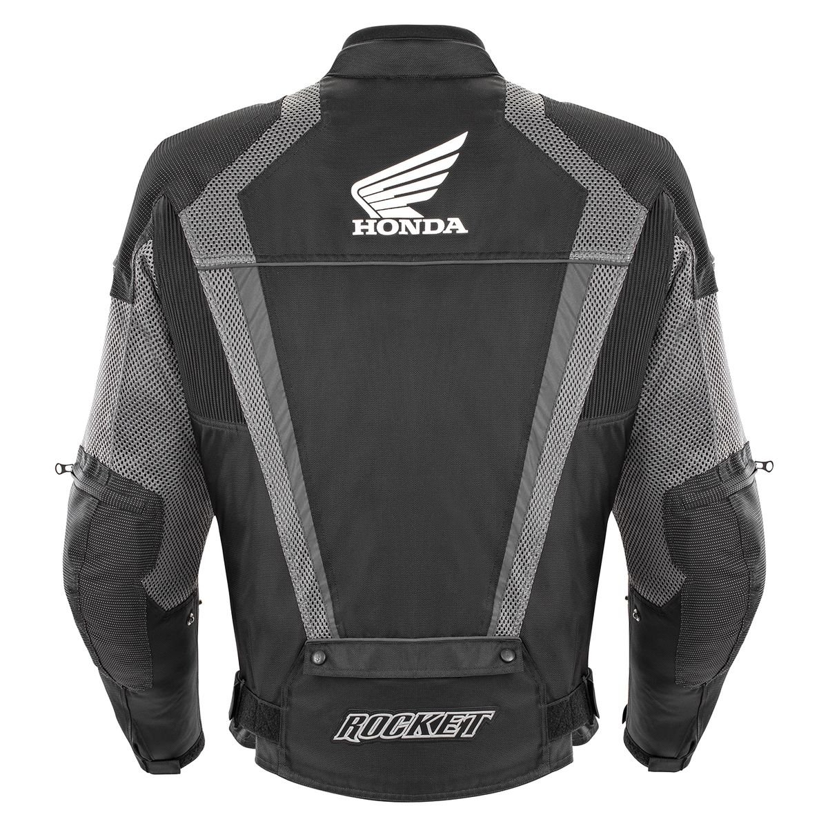 Joe Rocket Honda VFR Mesh Jacket (X-LARGE) (BLACK/GUNMETAL)