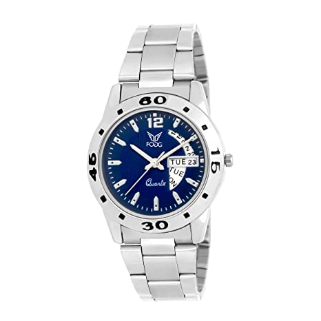 Fogg Analog Blue Dial Women's Watch 4035-BL Women at amazon