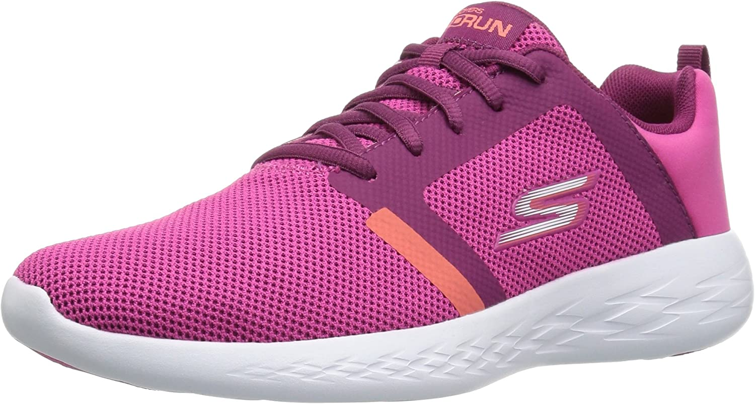 Skechers Performance Go Run 600-Revel, Zapatillas Deportivas para ...