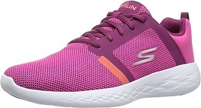 Skechers Performance Go Run 600-Revel, Zapatillas Deportivas para Interior para Mujer, Rosa (Pink), 38 EU: Amazon.es: Zapatos y complementos