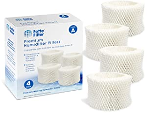 Fette Filter - Humidifier Wicking Filters Compatible with Honeywell HAC-504AW, Filter A (4-Pack)