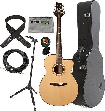 PRS a15al Alex Lifeson Guitarra Electroacústica Natural W/duro ...