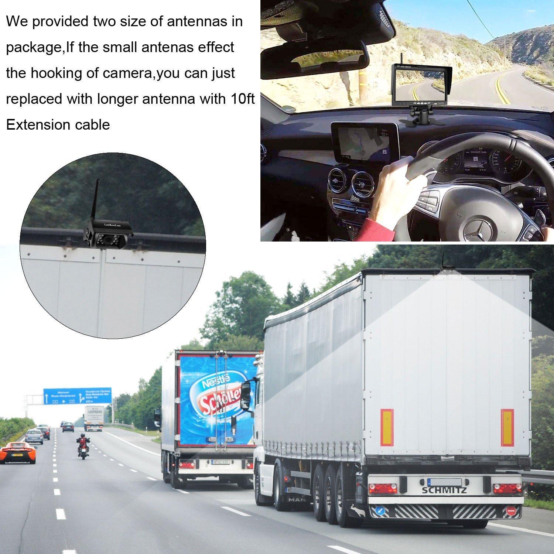 Dohonesbest Wireless Backup Camera And Monitor Kit For Wiring F150 Rv Truck Pickup Trailer Camper 5th Wheel Ip69k Waterproof Ir Night Vision Built In Rear