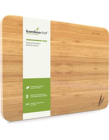 Extra Large Bamboo Cutting Board For Kitchen U0026 Dish Drying Tray   Wooden Chopping  Board  