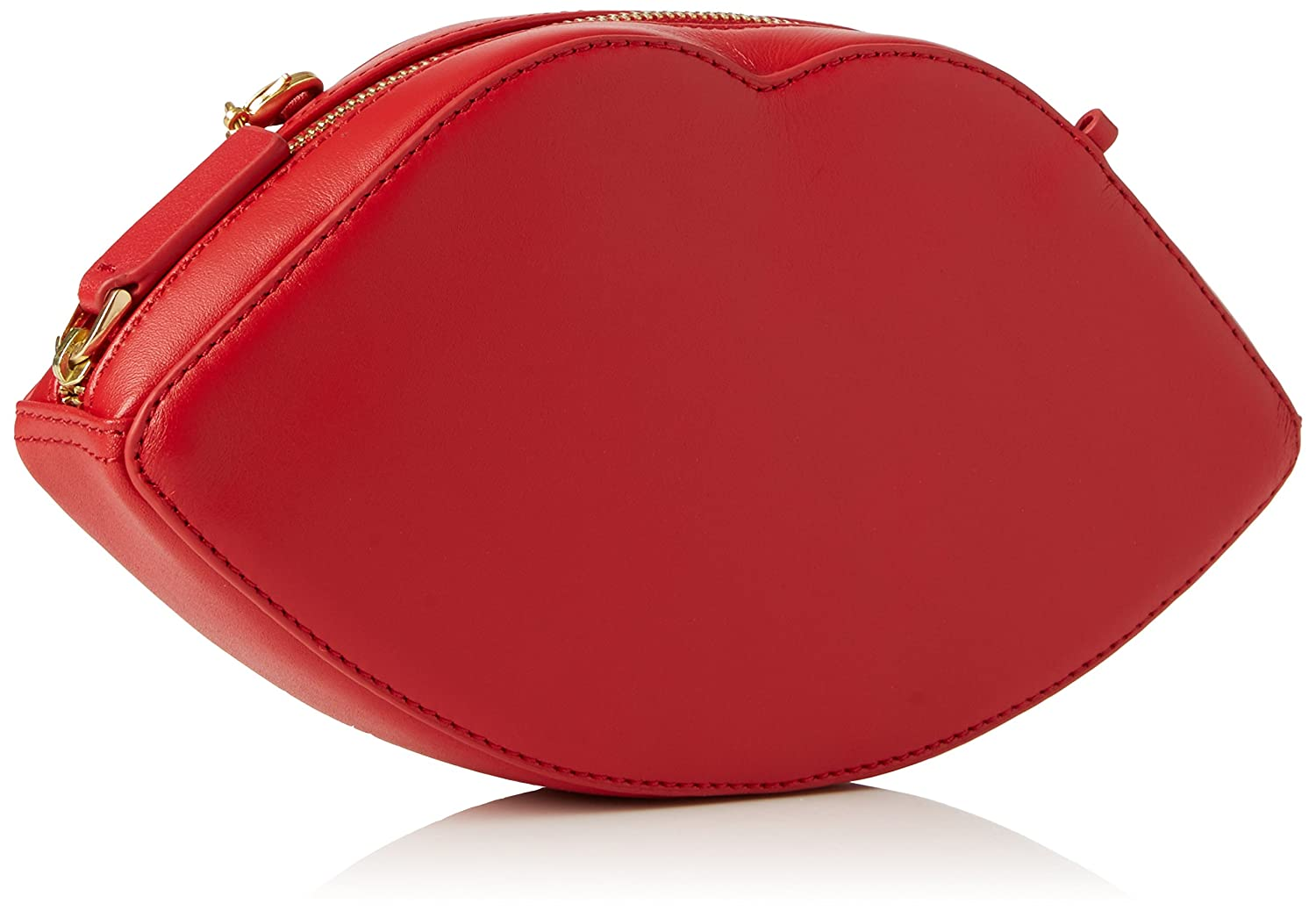 d8e4e34d1 Buy Lulu Guinness Women's Lips Crossbody Cross-Body Bag Red - Red Online at  Low Prices in India - Amazon.in