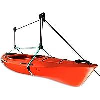 StoreYourBoard Kayak Ceiling Storage Hoist | Hi Lift Home U0026 Garage Hanging  Pulley Rack